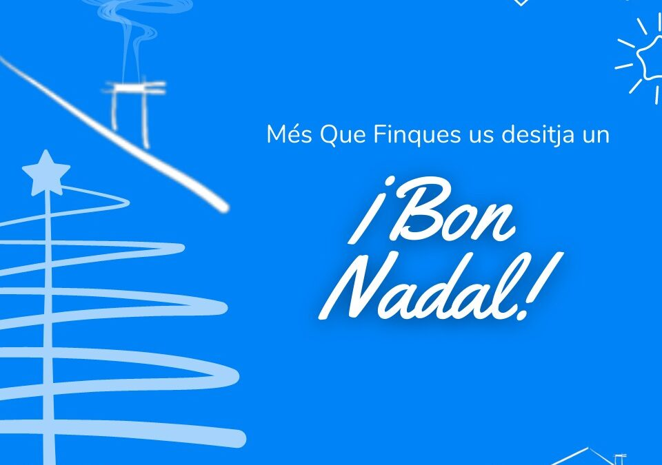 Tot l'equip de Més Que Finques us desitja un BON NADAL! 😍🎁🎄 . .